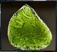 meteorite moldavite photography