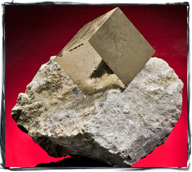 pyrite cube photography