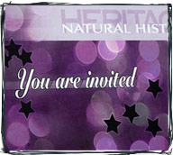 Heritage invitational mailer design
