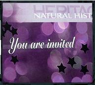 Heritage invitational mailer design