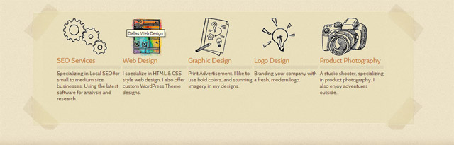 creative wordpress theme design