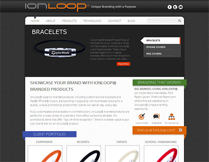 ion loop custom web design